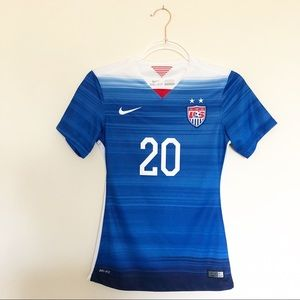 Authentic Nike 2015 USNWT Wambach Away Jersey